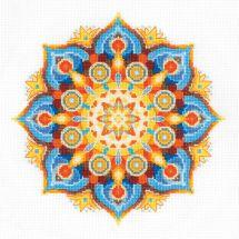 Kit point de croix - Riolis - Mandala - Energie