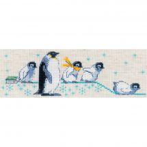 Kit point de croix - Riolis - Pingouins