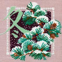 Kit point de croix - Riolis - Hiver