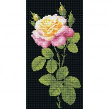 Kit de broderie Diamant - Riolis - Merveilleuse rose