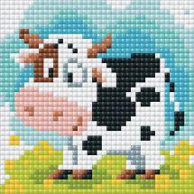 Kit de broderie Diamant - Riolis - Vache dans le pré