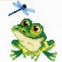 Kit point de croix - Riolis - Petite grenouille