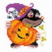 Kit point de croix - Riolis - Joyeux halloween
