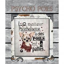Fiche Point de Croix - Isabelle Haccourt Vautier - Psycho Poils