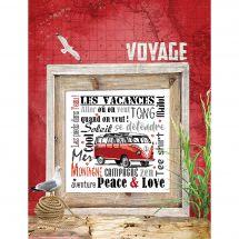 Fiche Point de Croix - Isabelle Haccourt Vautier - Peace and Love