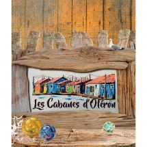 Fiche Point de Croix - Isabelle Haccourt Vautier - Les cabanes d'Oléron