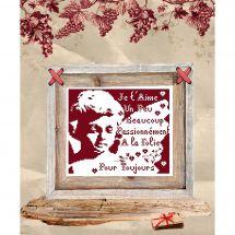 Fiche Point de Croix - Isabelle Haccourt Vautier - Ange gardien