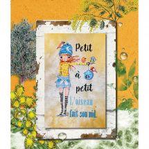 Fiche Point de Croix - Isabelle Haccourt Vautier - Petit à petit...