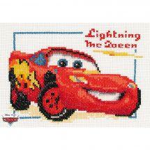 Kit point de croix - Vervaco - Lightning McQueen