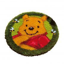 Kit de tapis point noué - Vervaco - Winnie l'ourson