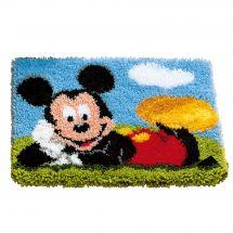 Kit de tapis point noué - Vervaco - Mickey