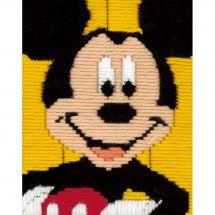 Kit de canevas pour enfant - Vervaco - Mickey