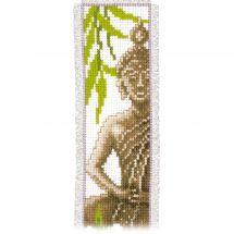Kit de marque-pages à broder - Vervaco - Bouddha