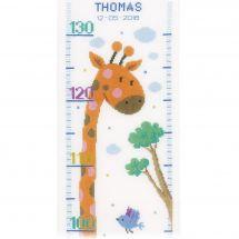 Kit de toise à broder - Vervaco - Girafe