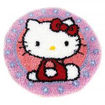 Kit de tapis point noué - Vervaco - Hello kitty