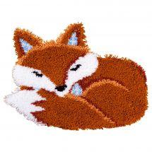 Kit de tapis point noué - Vervaco - Renard dormant