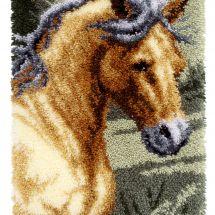Kit de tapis point noué - Vervaco - Cheval