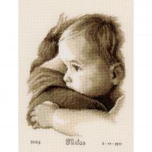Kit point de croix - Vervaco - Bébé sur le bras