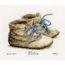 Kit point de croix - Vervaco - Chaussures bébé