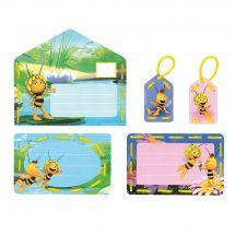 Kit de carte à broder enfant - Vervaco - Maya et Willy