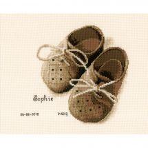 Kit point de croix - Vervaco - Premières chaussures