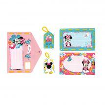 Kit de carte à broder enfant - Vervaco - Kit à créer - invitation Minnie