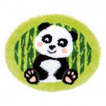 Kit de tapis point noué - Vervaco - Panda