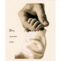 Kit point de croix - Vervaco - Bonheur de bébé