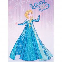 Kit de broderie Diamant - Vervaco - Elsa