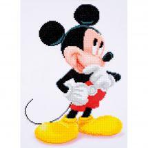 Kit de broderie Diamant - Vervaco - Mickey Mouse