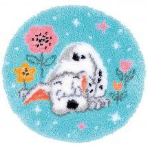 Kit de tapis point noué - Vervaco - Petit dalmatien