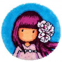 Kit de tapis point noué - Vervaco - Cherry blossom