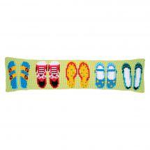 Kit de coussin bas de porte - Vervaco - Chaussures d'été