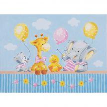 Kit de peinture par numéro - Vervaco - Fête de bébé