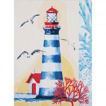 Kit de peinture par numéro - Vervaco - Le phare
