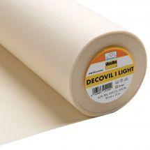 Toile au mètre - Vlieseline - Entoilage créatif Decovil I Light