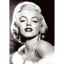 Kit de broderie Diamant - Wizardi - Marilyn Monroe