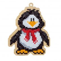 Support bois broderie Diamant - Wizardi - Pingouin