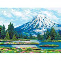 Kit de peinture par numéro - Wizardi - Kamtchatka