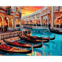 Kit de peinture par numéro - Wizardi - Venise