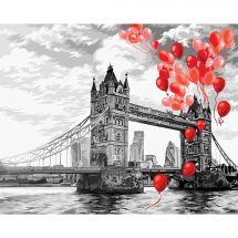 Kit de peinture par numéro - Wizardi - Tower Bridge