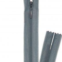 Fermeture non séparable - invisible - Prym - Fermeture Eclair ® Gris foncé - 22 cm