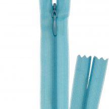 Fermeture non séparable - invisible - Prym - Fermeture Eclair ® Bleu layette - 22 cm