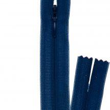 Fermeture non séparable - invisible - Prym - Fermeture Eclair ® Bleu bugatti - 22 cm