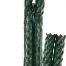 Fermeture non séparable - invisible - Prym - Fermeture Eclair ® Vert lichen - 22 cm
