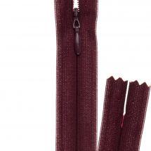 Fermeture non séparable - invisible - Prym - Fermeture Eclair ® Bordeaux - 22 cm