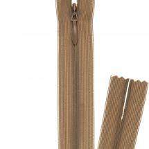 Fermeture non séparable - invisible - Prym - Fermeture Eclair ® Beige moyen - 22 cm
